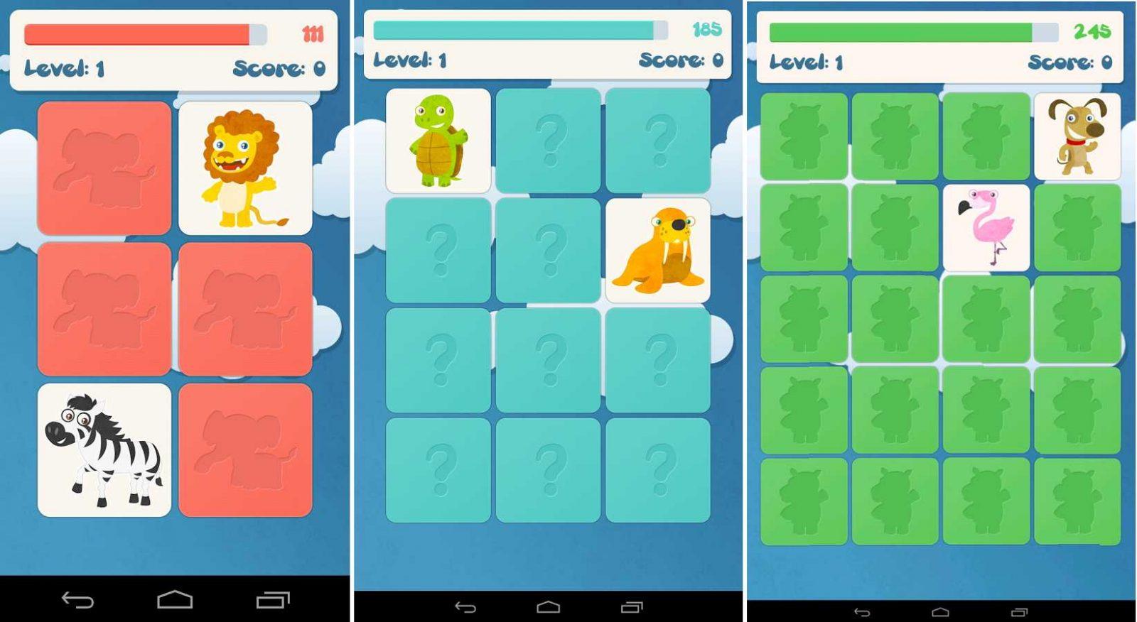 animales juegos para nios juego android