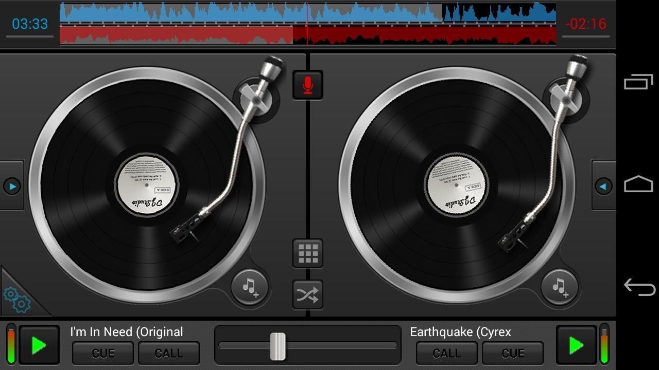 Aplicaci n mesa de mezclas dj studio 5 im genes y fotos for Mesa de mezclas fonestar