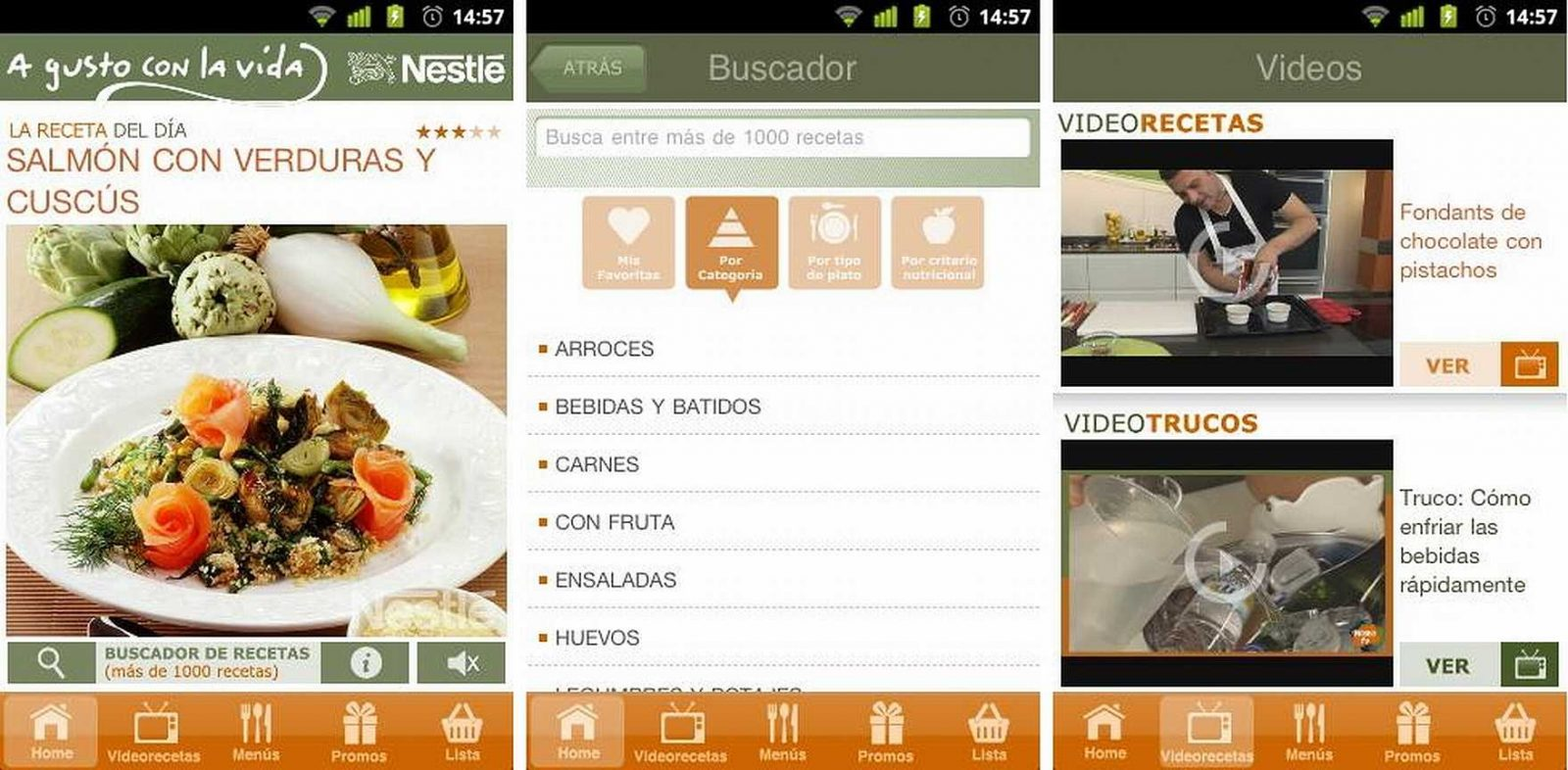 las 6 mejores aplicaciones android de recetas de cocina