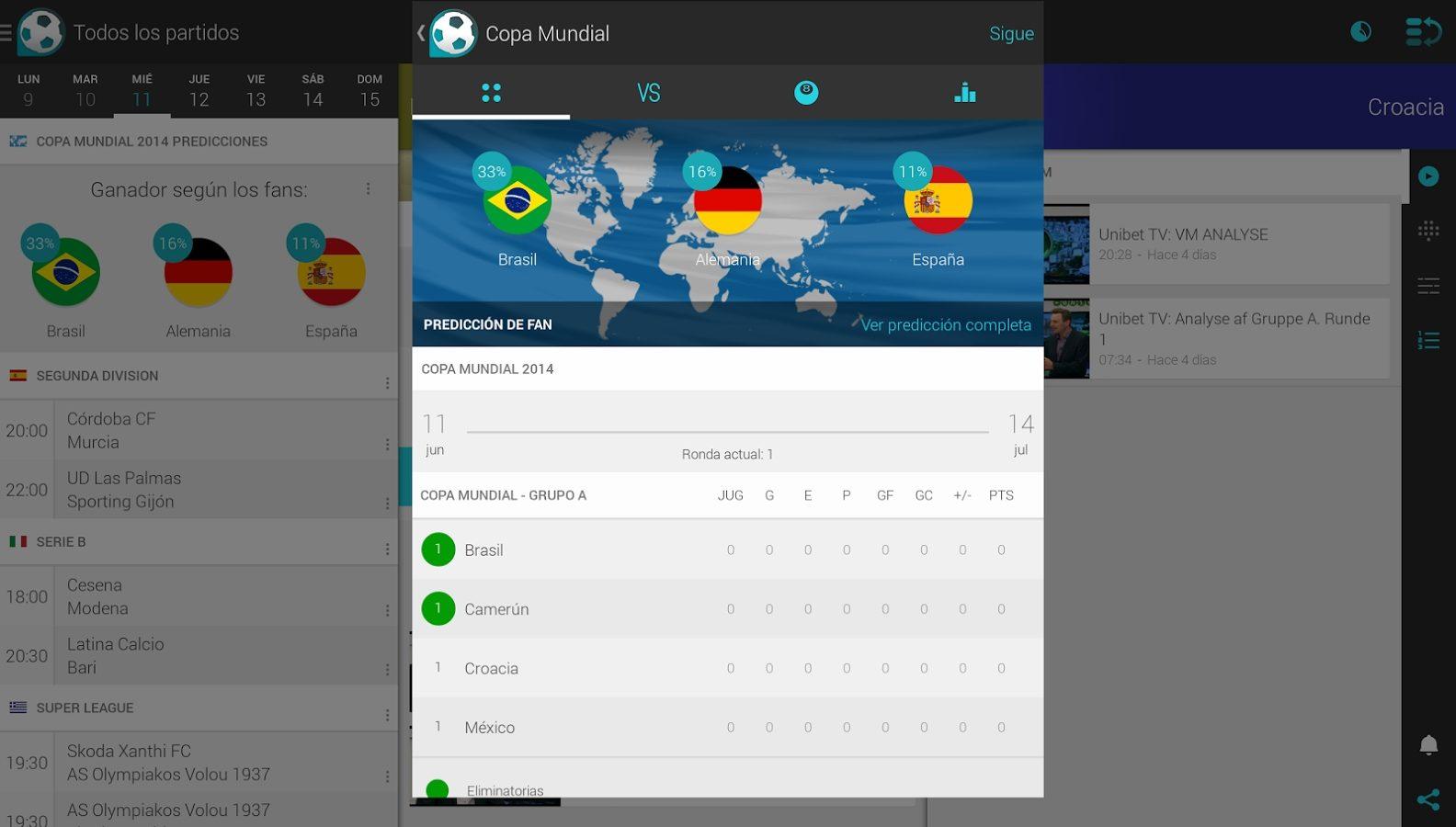 App de noticias Android Forza Fútbol