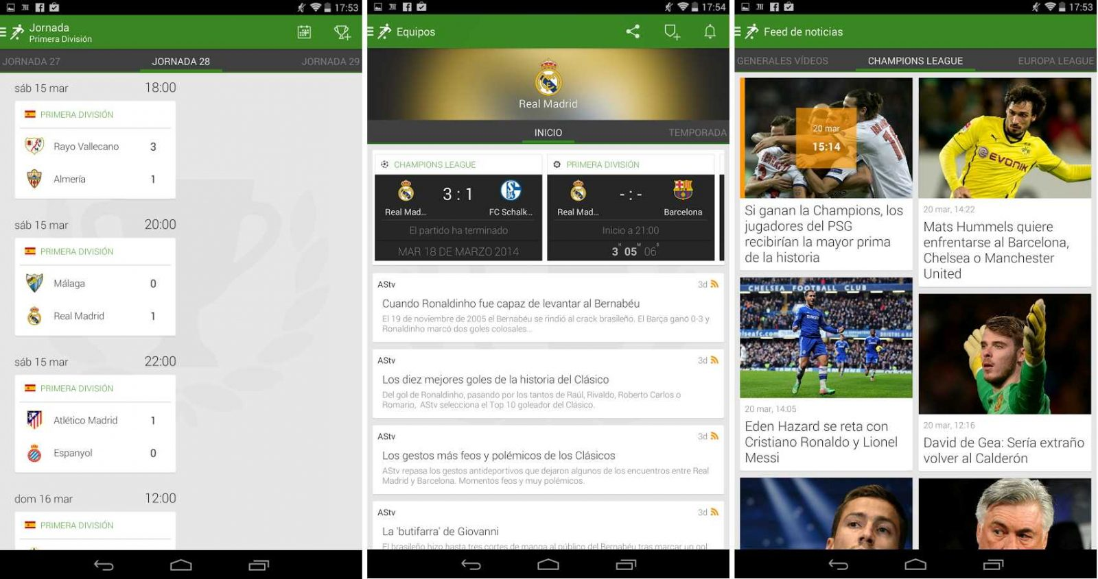App de noticias de fútbol FotMob – Soccer Scores