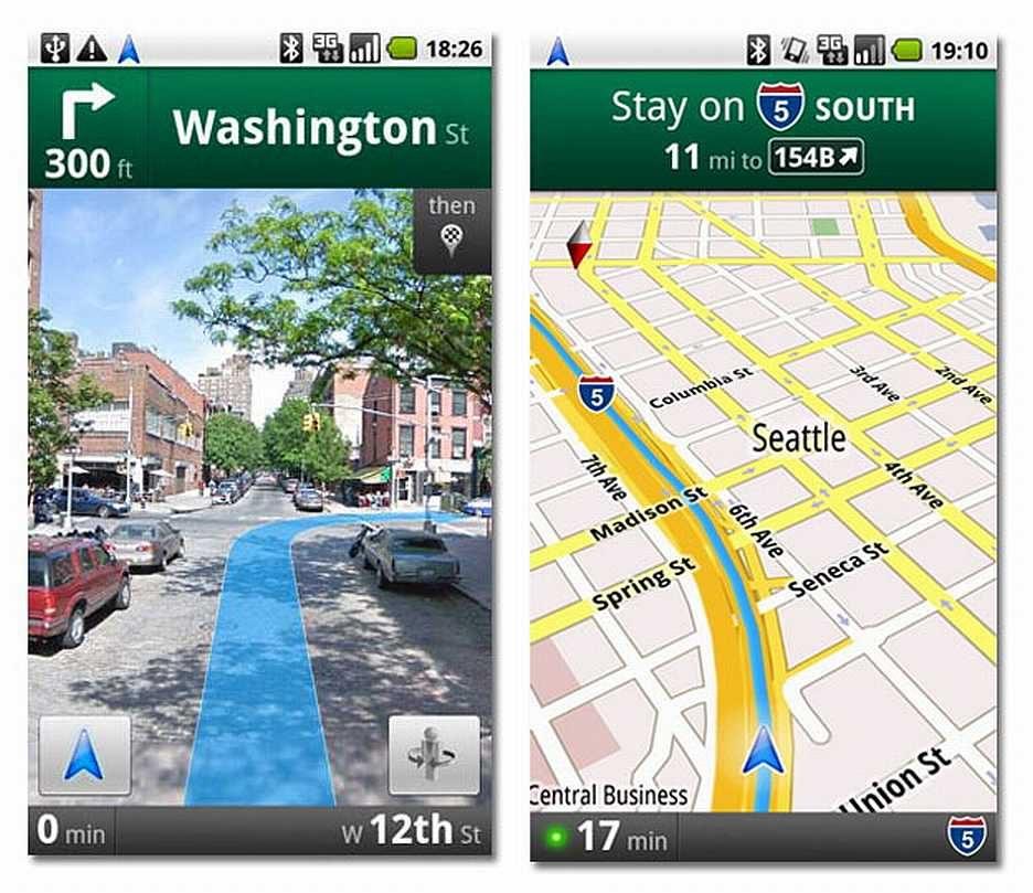 Las 7 mejores aplicaciones GPS Android de 2018