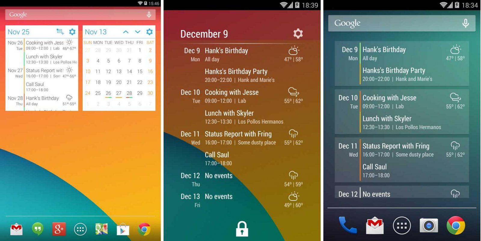 Calendario Android.Calendario App Android Eventflow Imagenes Y Fotos