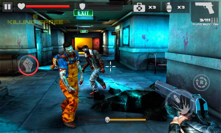 Dead Target Zombie Juego Unifeed Club