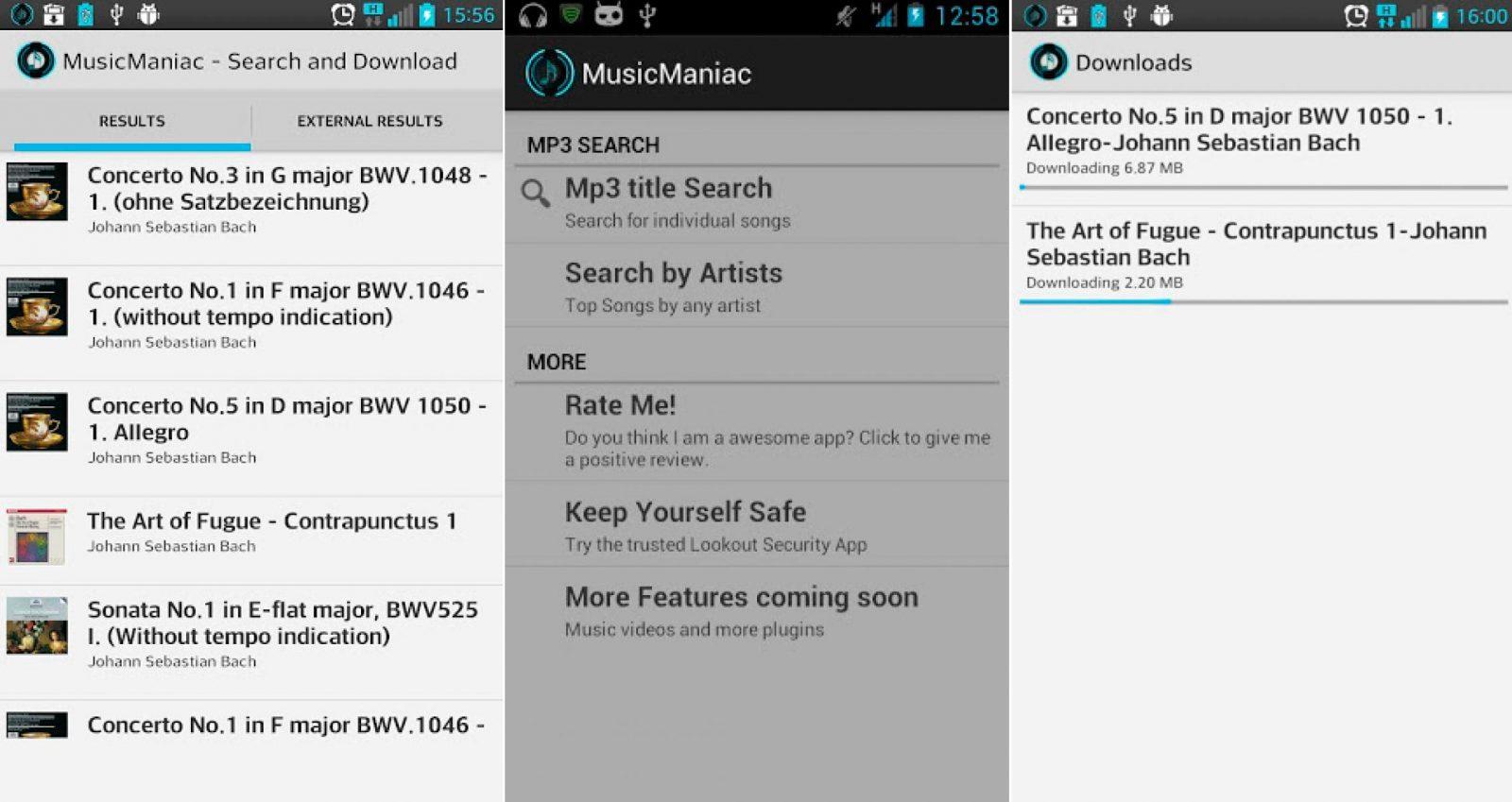 descargar musica y videos gratis para android