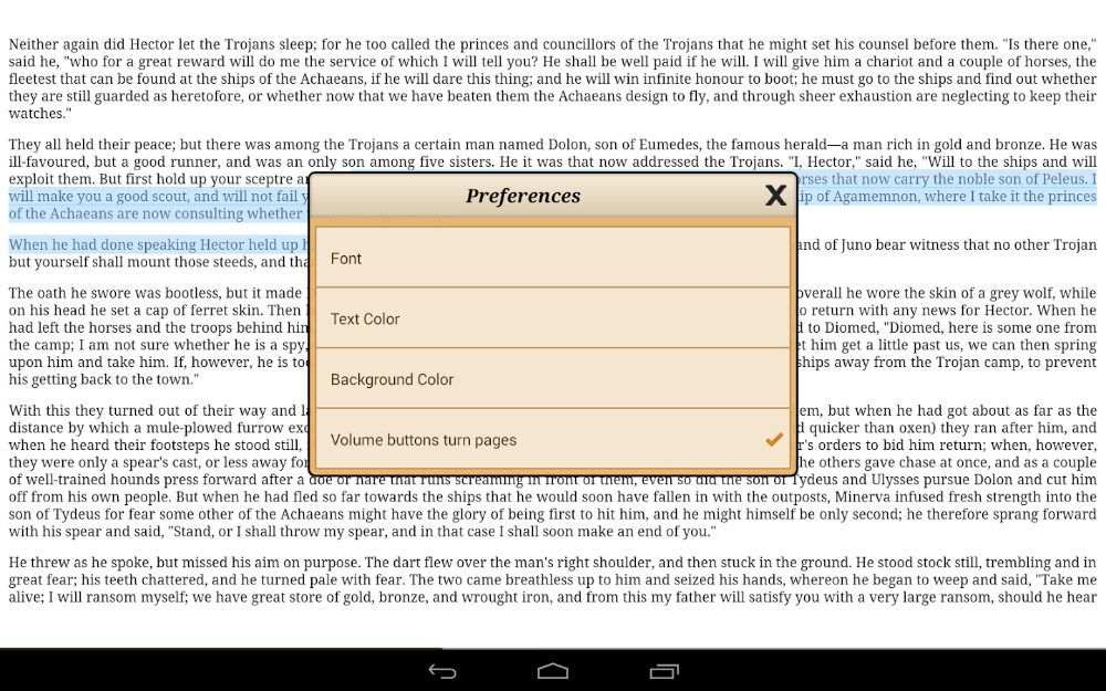 Ebook Reader para Android