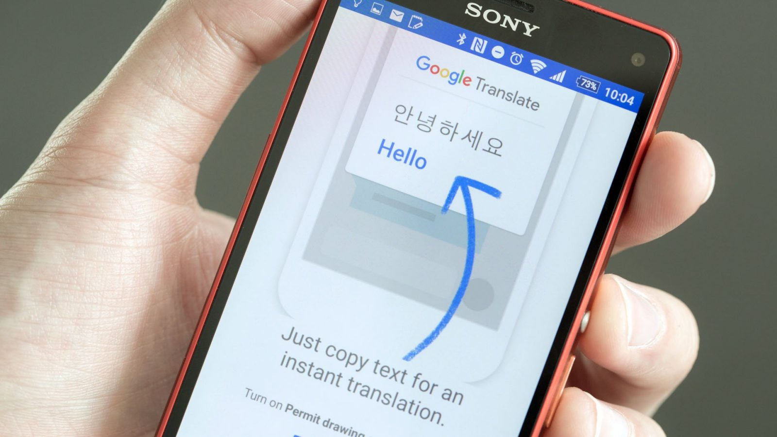 Google Translate para moviles Android