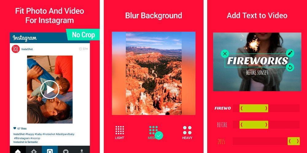 InstaShot para Android