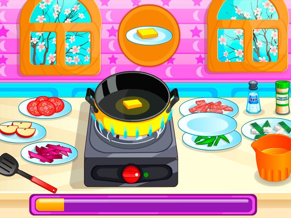 Galer a de im genes los 8 mejores juegos de cocina android for Juego mesa cocina