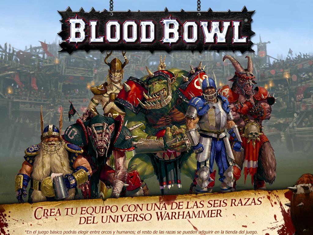 juego de estrategia blood bowl para android
