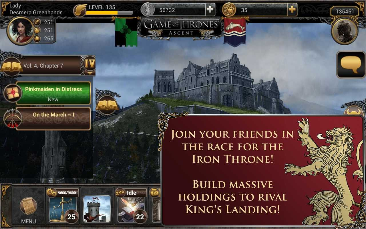 Juego para Android Game of Thrones Ascent