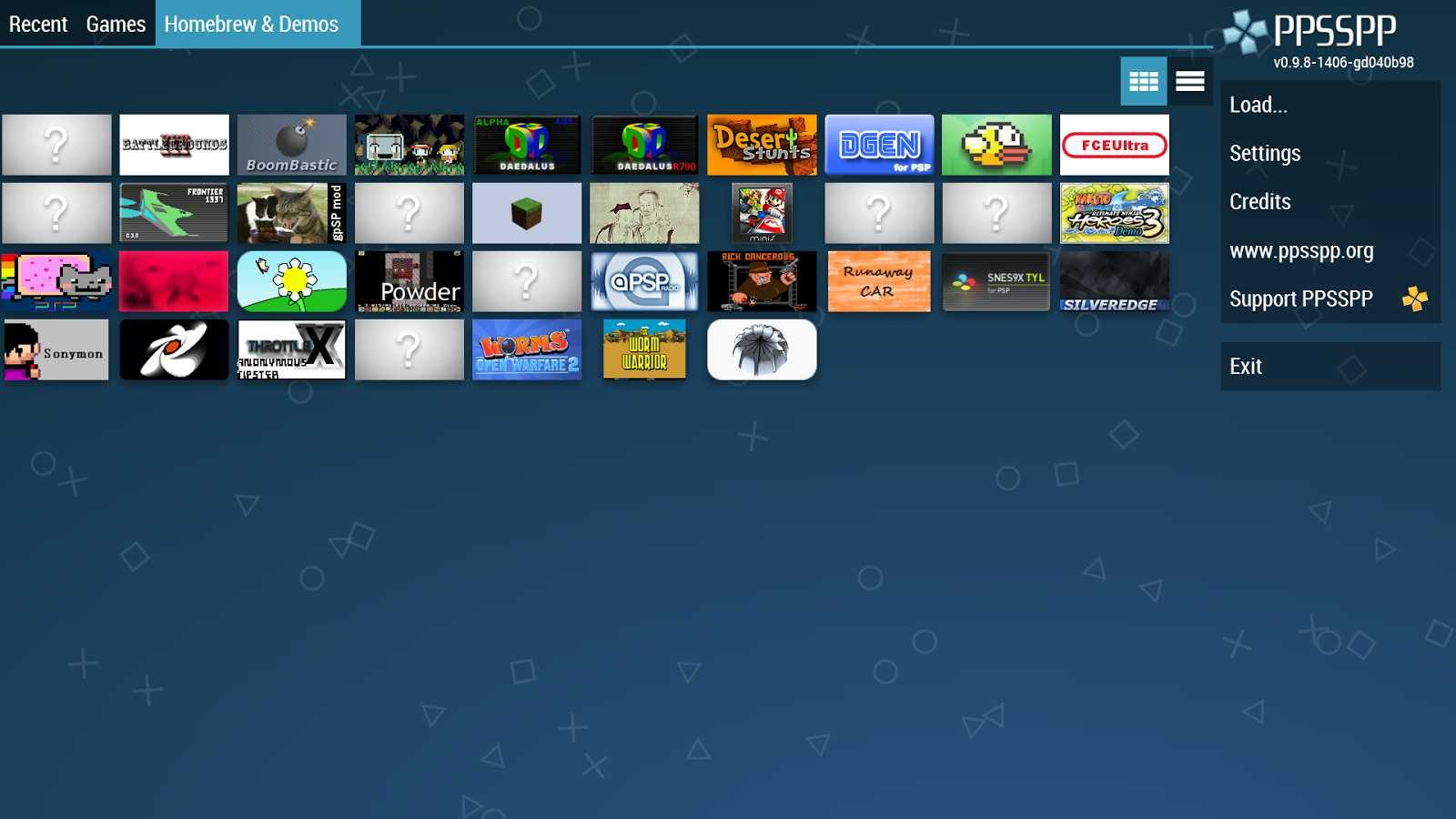 Juegos PSP en Android con PPSSPP