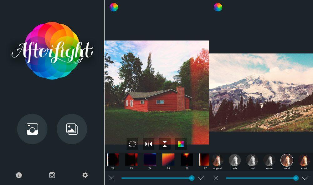 Mejores aplicaciones Android para editar fotos