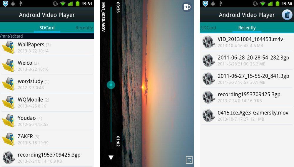 Mejores aplicaciones para ver vídeos en Android