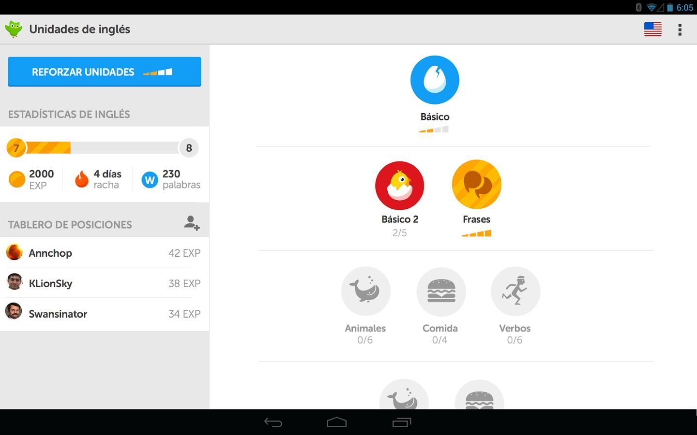 Mejores apps Android para aprender inglés