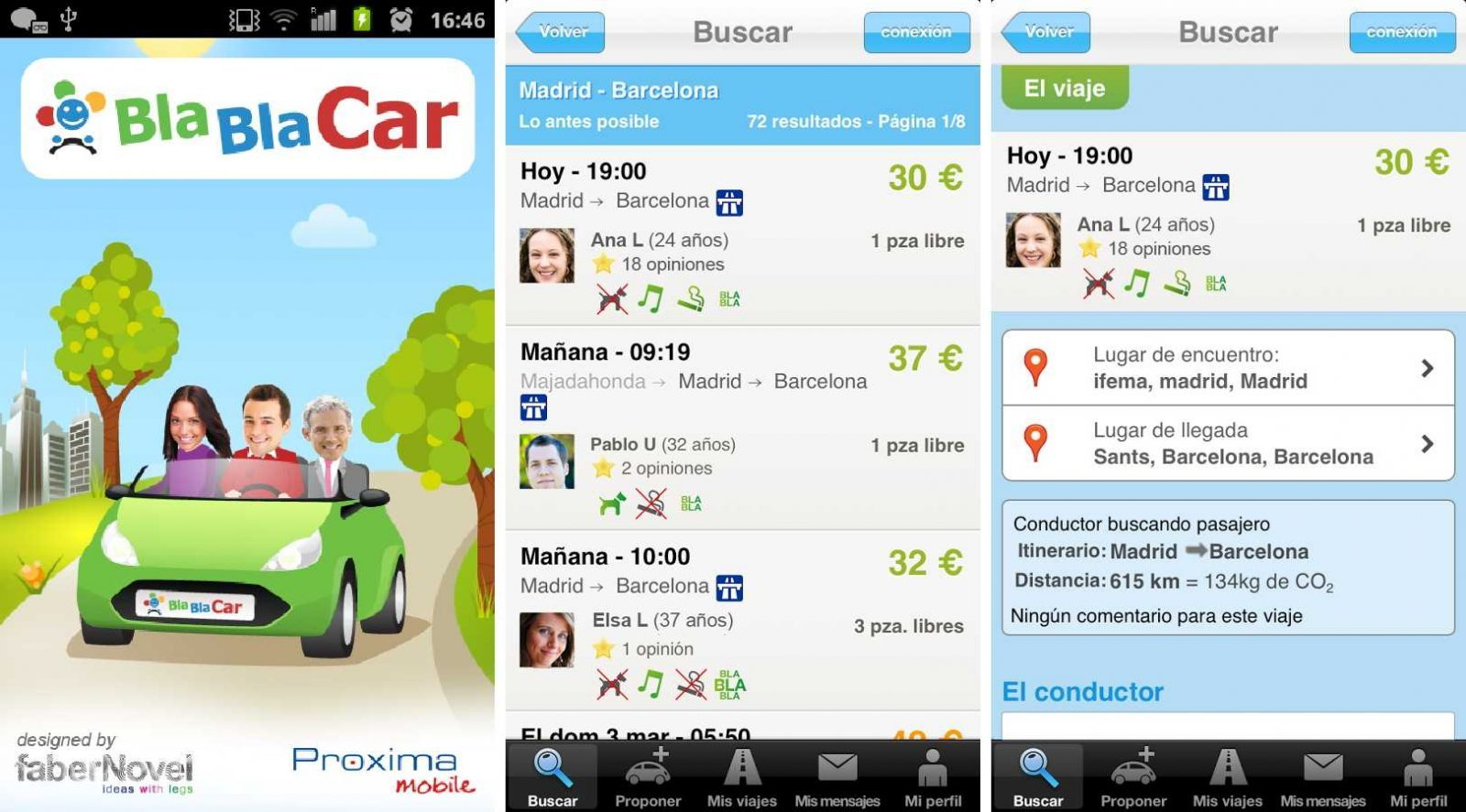 Mejores apps Android para compartir coche