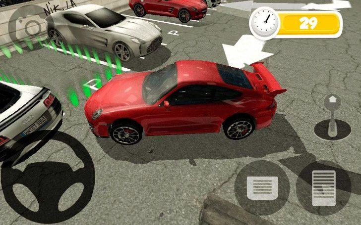 los 8 mejores juegos de aparcar coches android de 2018