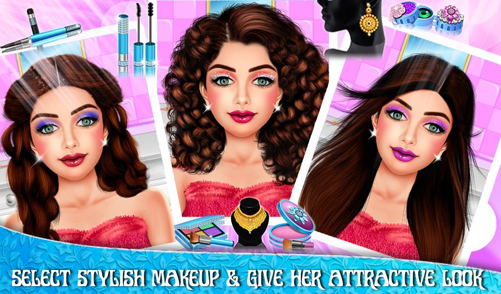 Princess wedding makeover Android