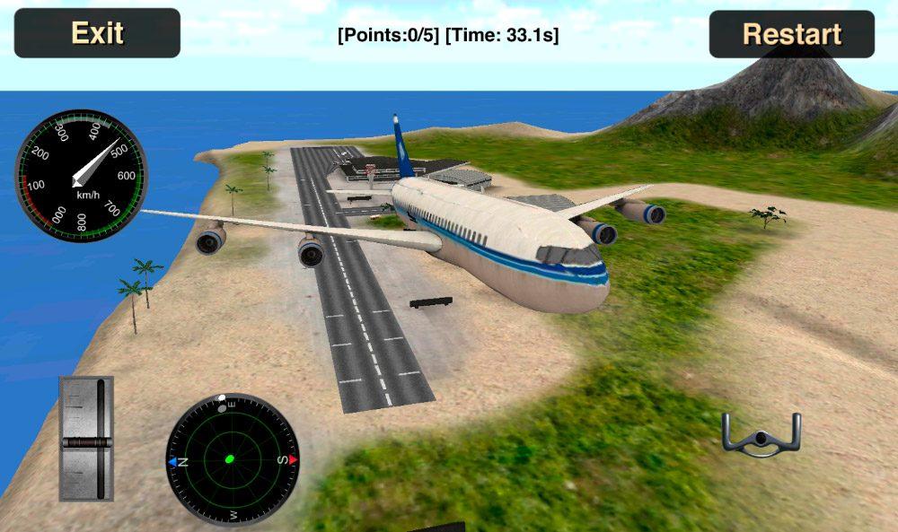 Simulador de vuelo avi n 3d im genes y fotos for Simulador cocinas 3d