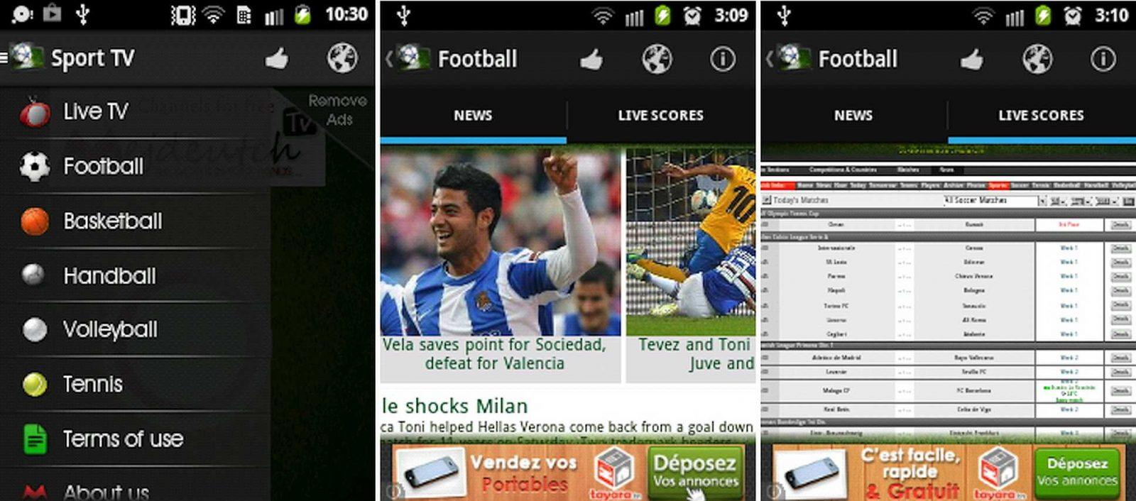 Sport TV, apps para Android