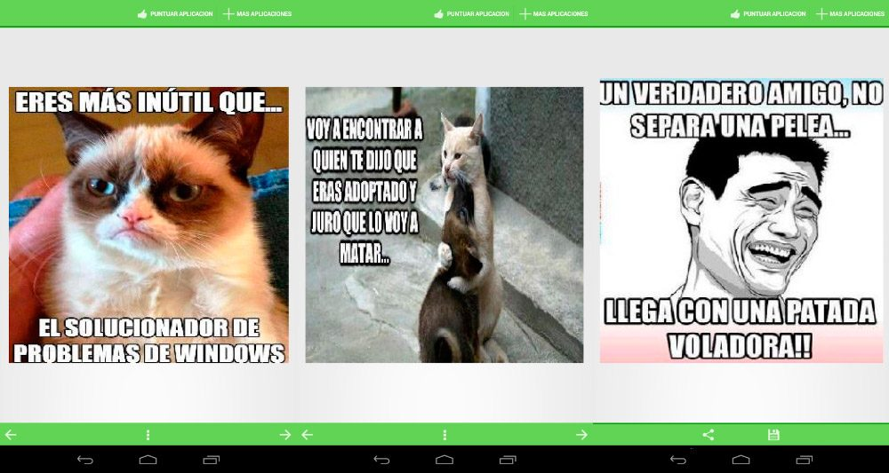 Top apps divertidas Humor para compartir