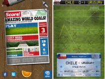 App Android de fútbol Score ! World Goals