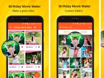App Birthday Movie Maker