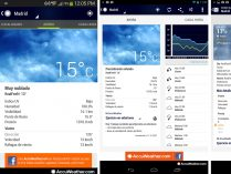 App de tiempo Android AccuWeather