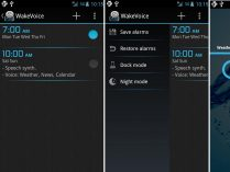 Despertador Android WakeVoice Trial