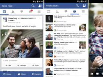 Facebook app en Android