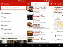 Yelp para moviles Android